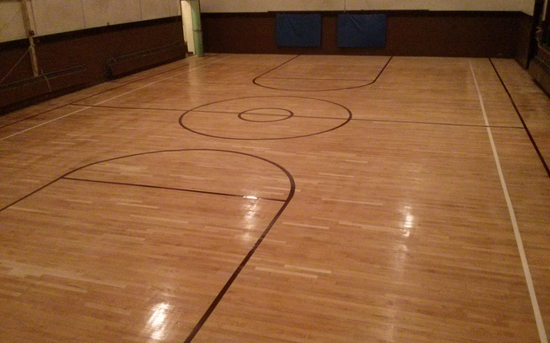 Gym Floors Repair And Refinished