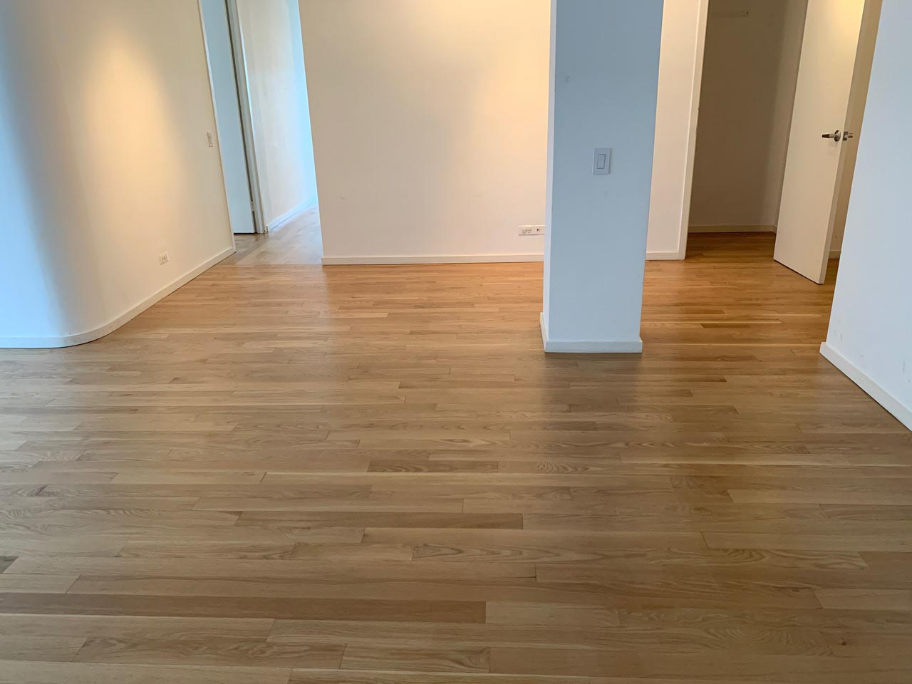 Repair & Refinish White Oak Floor